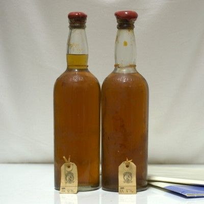 Original Bottles From The SS Politician X 2
